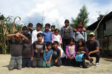 Taller para niños y adolescentes indígenas chiapas