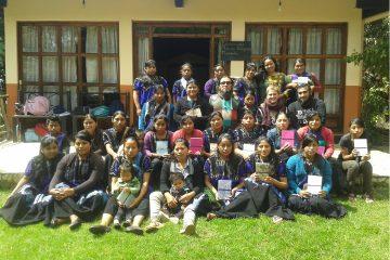 Talleres para mujeres adolescentes indígenas chiapas