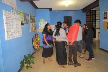 Talleres para mujeres migrantes indígenas en México