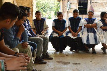 educación para las personas migrantes de pueblos originarios en los altos y selva Chiapas